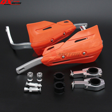 New Orange handguards Hand Guards for KTM SX EXC XCF SXF XCW EXCF SMR Dirt Bike Motocross Supermoto Motorcycle free shipping powerzone headlight for ktm sx exc xcw xcf sxf smr motorcycle dirt bike motocross supermoto enduro headlamp headlight fairing