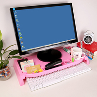 Useful Multifunctional The grid desktop storage holder keyboard storage rack 50*13.5*6.5cm free shipping