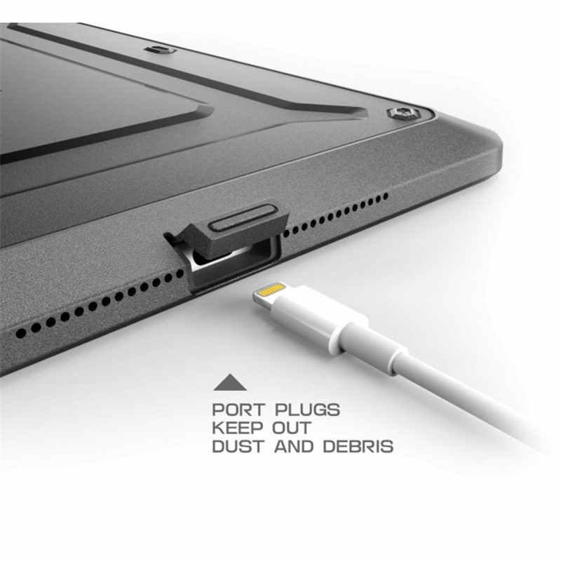 Dla ipad Mini 4 Case SUPCASE UB Pro wytrzymała dwuwarstwowa hybrydowa osłona ochronna z wbudowanym ochraniaczem ekranu