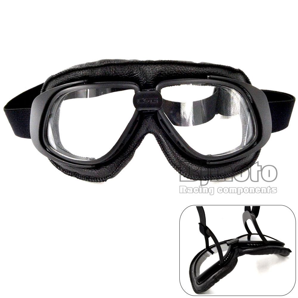 1x Motocross Motorcycle Goggles Motorbike Scooter Helmet Glasses Anti Dust