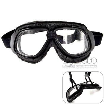 Gafas para motocicleta Bjmoto, gafas para casco, gafas antipolvo para moto de cross, gafas Vintage para montar en bicicleta, gafas para motociclista, gafas para piloto