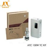 2018 JomoTech УВД 150 TC Vape Mod OLED переменной мощности 150 Вт поле Mod электронная сигарета best MTL комплект с 3 мл распылитель Jomo 22