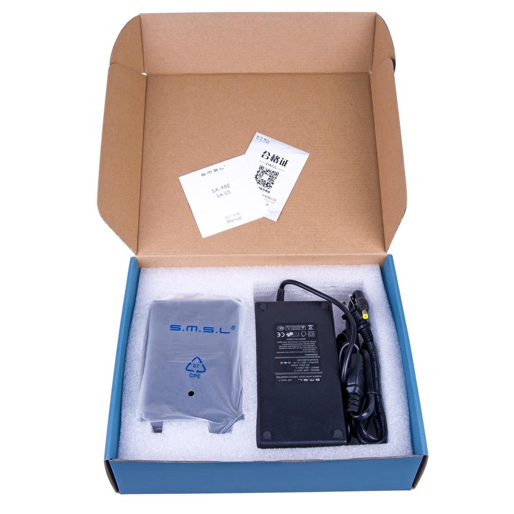 SMSL SA-98E աուդիո ուժեղացուցիչ 2.1 դասի d - Տնային աուդիո և վիդեո - Լուսանկար 6