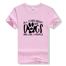 All I care about are dogs t-shirt dog mom funny paw graphic women fashion grunge tumblr aesthetic shirt