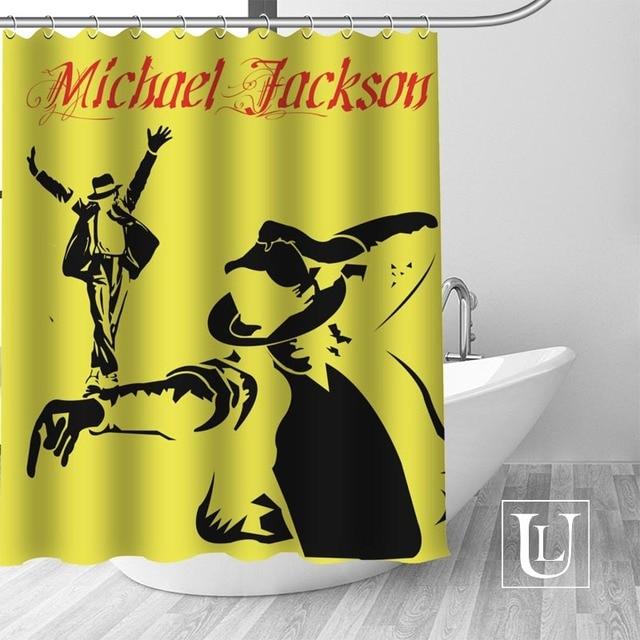 13 Shower Curtain Michael jackson shower curtain jackson galaxy 5c64f7a44ec73