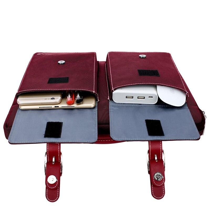 Image 5 - MOSISO сумка для ноутбука 13,3 15,6 дюймов непромокаемая сумка для ноутбука Macbook Air Pro 13 15 Компьютерная сумка портфель-in Сумки и чехлы для ноутбука from Компьютер и офис