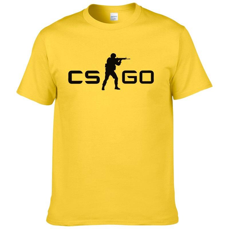 Cs go gamers men women t shirt verão novo csgo camisa masculina 100% algodão de alta qualidade superior t roupas marca hip hop rua #127