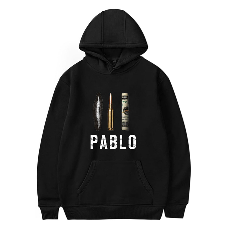 Spring Autumn Men Hoodie New Narcos PABLO Escobar Hoodies Cotton Thicken Fleece Male Hip Hop Pullover Sweatshirt Coat T6 V3