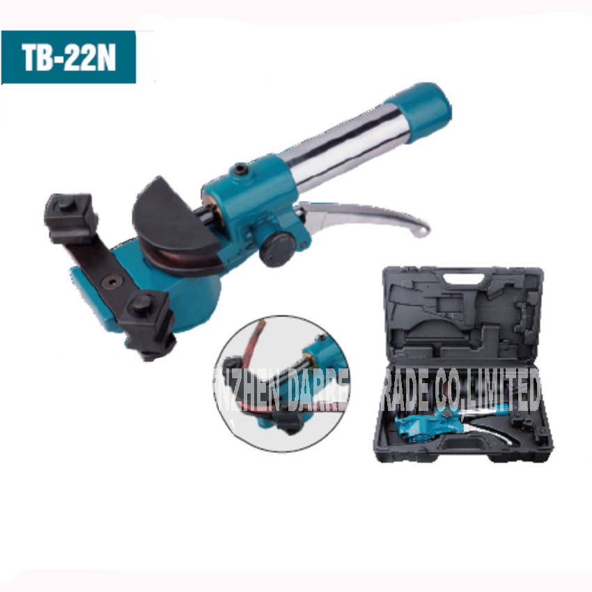TB-22 Tube Hydraulic Tube Bender Bender inch Manual 1/4 '', 5/16 '', 3/8 '', 1/2 '', 5/8 '', 3/4 '', 7 / 8 Suitable 3 4 4 4 1 2 1 4 1 8 1 16