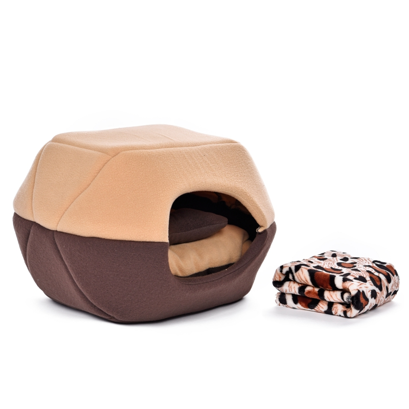 free gift pet bed soft dog bed puppy kennel cat house kitten cushion pet mats and pillow