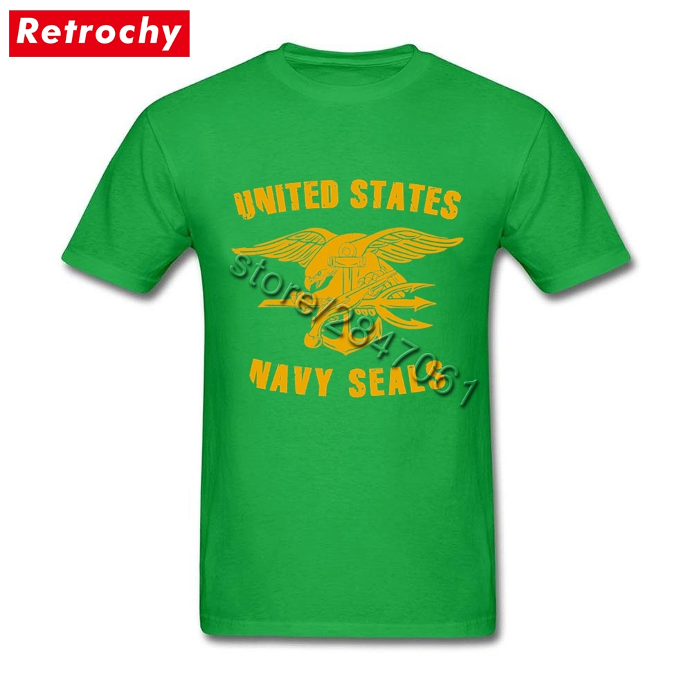 2017 Male Awesome U.S. Navy Seals T Shirts Short Sleeved Designer Special  Force T Shirt Adult Oversize Clothing-in T-Shirts from Men s Clothing on ... 974ae89b5
