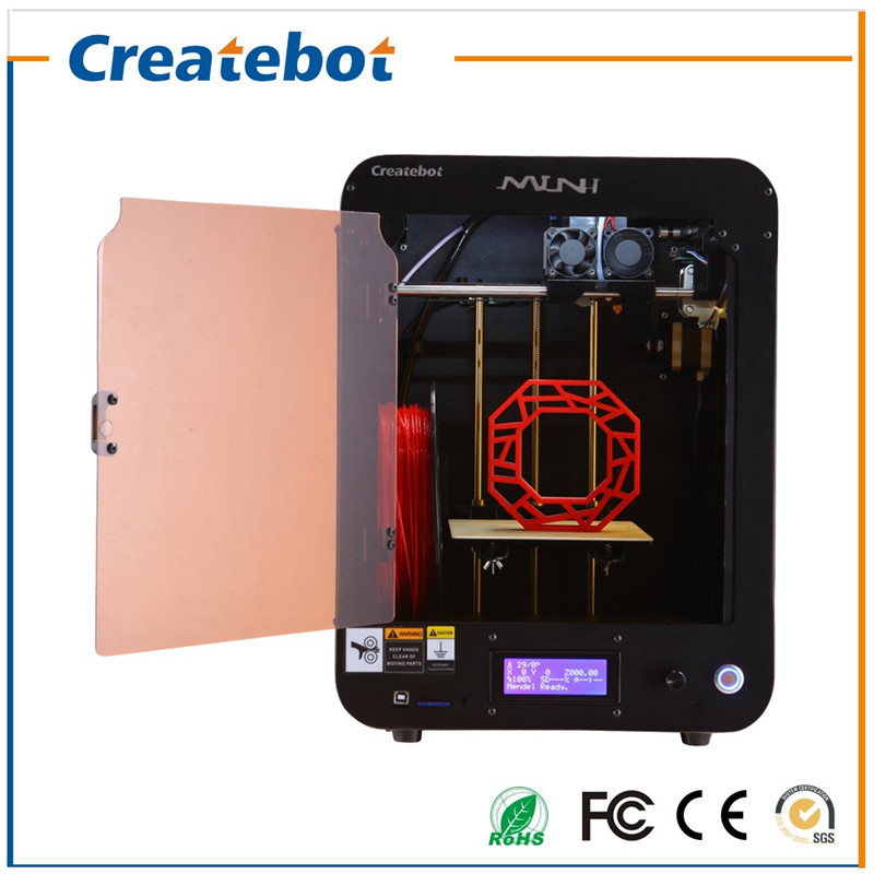 Createbot 3D Printer Desktop  with Heatbed, LCD Screen, Single-extruder