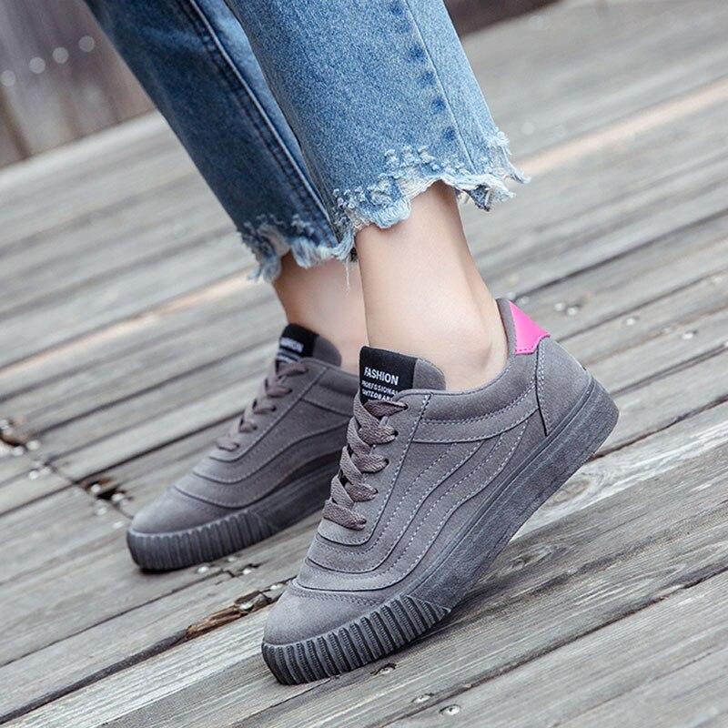 Vulcanized Shoes Women Sneakers Fashion