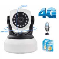 Caméra Wifi 4G 3G carte Sim 1080P 720P HD réseau vidéo sans fil caméra IP GSM sécurité bébé Surveillance caméra APP contrôle