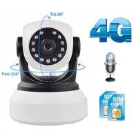 Wifi Camera 4G 3G Sim Card 1080P 720P HD Network Video Wireless IP Camera GSM Security Baby Surveillance Camera APP Control