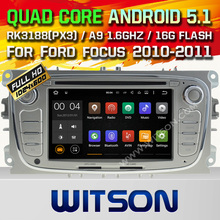 WITSON Quad Core Android 5.1 CAR RADIO for FORD MONDEO FOCUS S-MAX GALAXY STEREO+CAPACTIVE SCREEN+DVR/WIFI/3G+DSP+RDS+16GB flash
