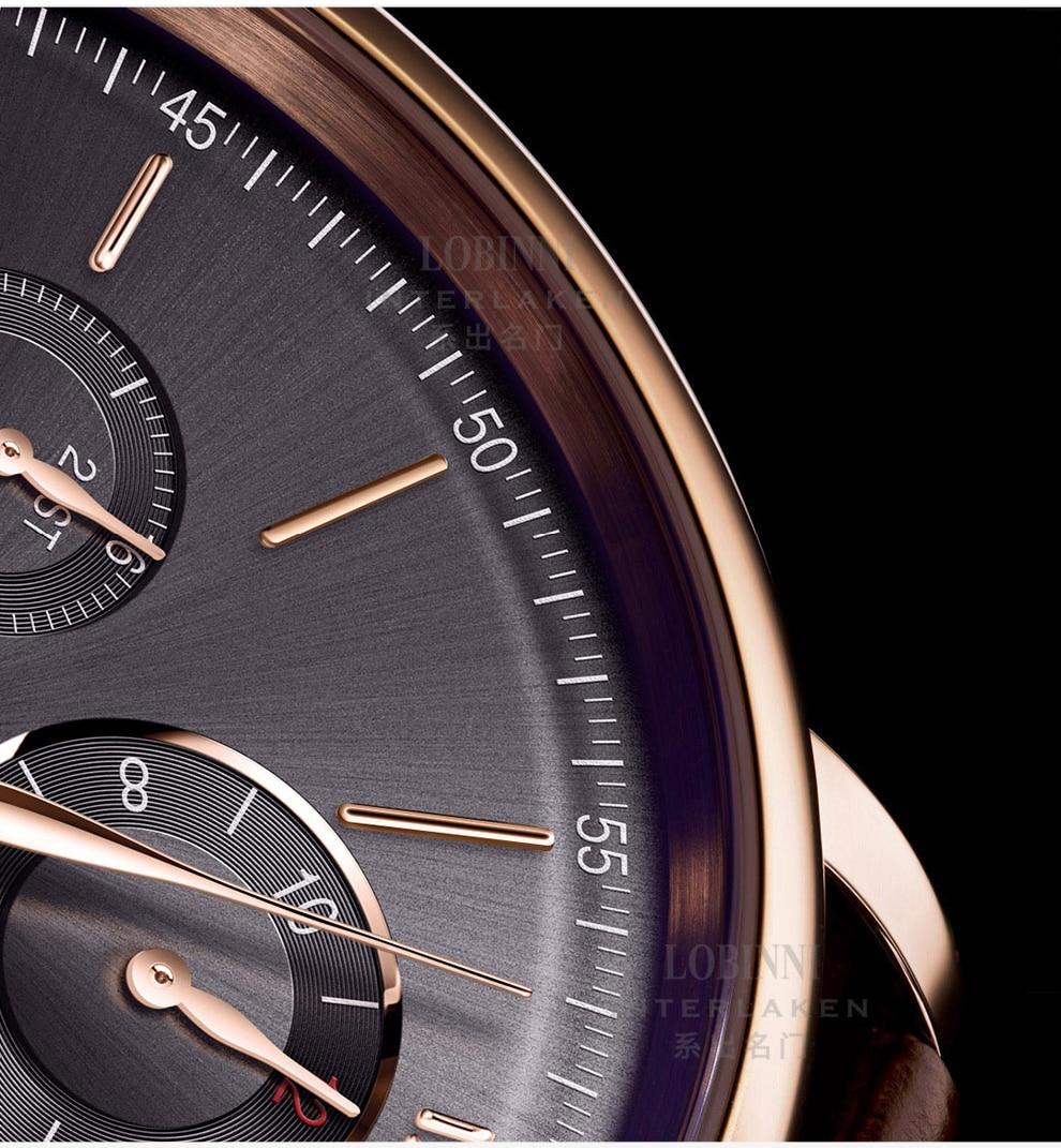 HTB1lMYvVhnaK1RjSZFBq6AW7VXa9 Switzerland LOBINNI Men Watches Luxury Brand Perpetual Calender Auto Mechanical Men's Clock Sapphire Leather relogio L13019-6
