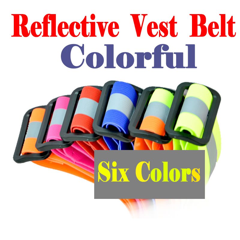 FGHGF Reflective Safety Vest Belt For Kid Child Children Pupil Security Reflective Waistcoat Belt Outdoor Running Jogging Cyclin