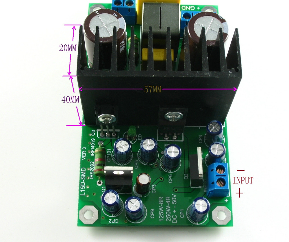 L15dsmd 250w Irs2092s Class D Mono Amplifier Completed Board Ljm In Sub 150w 8ohm Subwoofer Circuit 35 150hz 2sa1943 From Consumer Electronics On Alibaba Group