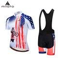 MILOTO Велоспорт Джерси 2019 MTB Мужская roupa ciclismo летний комплект с коротким рукавом велосипедная одежда велосипедная футболка для триатлона одеж...
