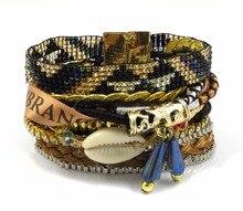 Brazilian Bracelets For Women Magnetic Bracelets Friendship Beads Bracelet Pulseras 2019 Jewelry Bijoux Bracciale