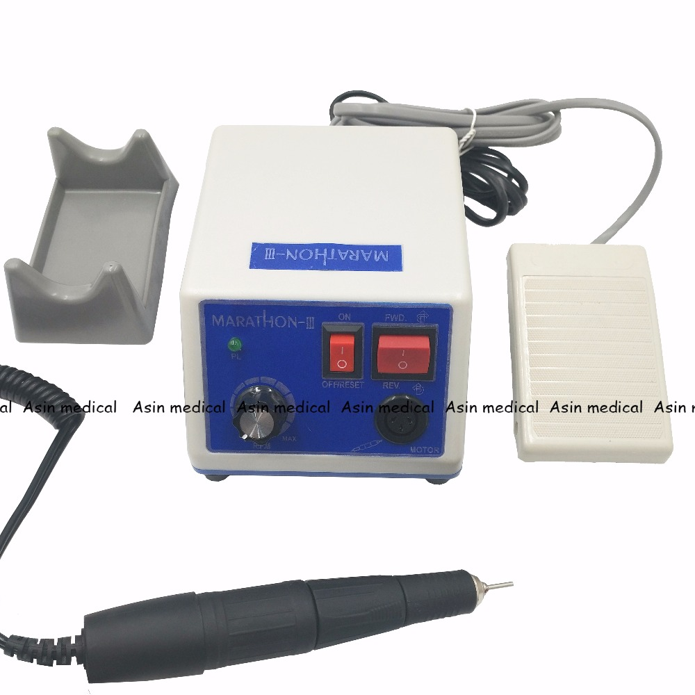 Good quality Marathon Dental Lab Electric Polishing Micromotor N3 35K RPM Motor and lab Handpiece dental lab marathon micromotor machine n3 35k rpm electric motor gold