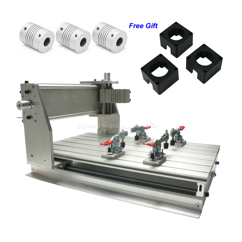 CNC Router 3040 Z-DQ Frame Kit Ball Screw 3 Pcs Couplings 3 Pcs Stepper Motor Bracket For DIY CNC Milling Machine