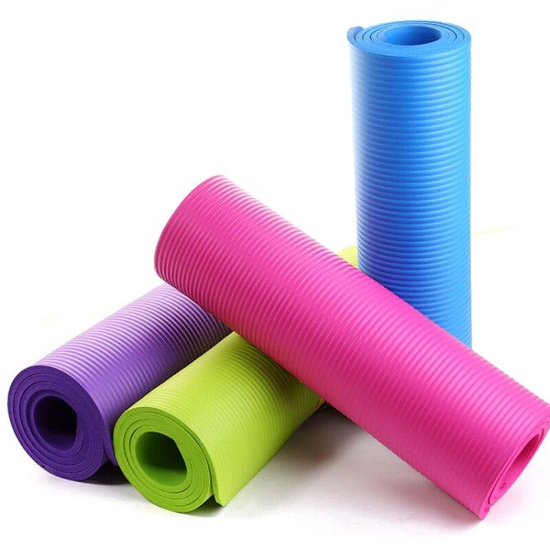 10MM Extra Thick Yoga Mats Fitness Pad Mat Non Slip