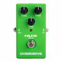 NUX Analog Pedals Electric Guitar Effect Overdrive Classic British Distortion High Gain Analog Delay Guitar Chorus Effects Parts
