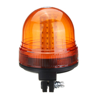 12V/24V 60 SMD5730 LED Car Rotating Flashing Amber Beacon Flexible DIN Pole Tractor Warning Light