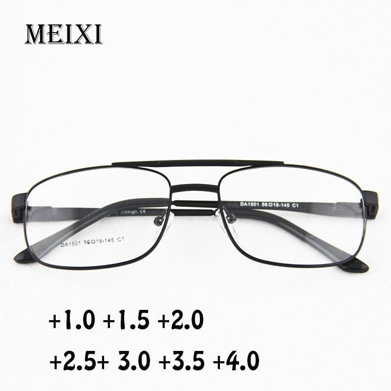 Fashion Large Frame Resin Lenses Reading Glasses Women Men Unisex Eyewear Hyperopia Glasses+1.0 1.5 2 2.5 3 3.5 4