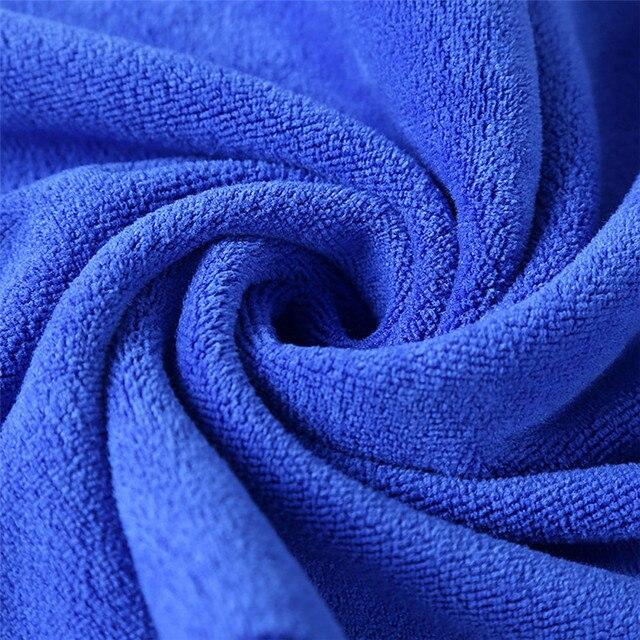 1 pz Costume Da Bagno Telo Doccia Assorbente Superfine Fibra Morbida E Confortevole Telo da bagno 35*75 cm