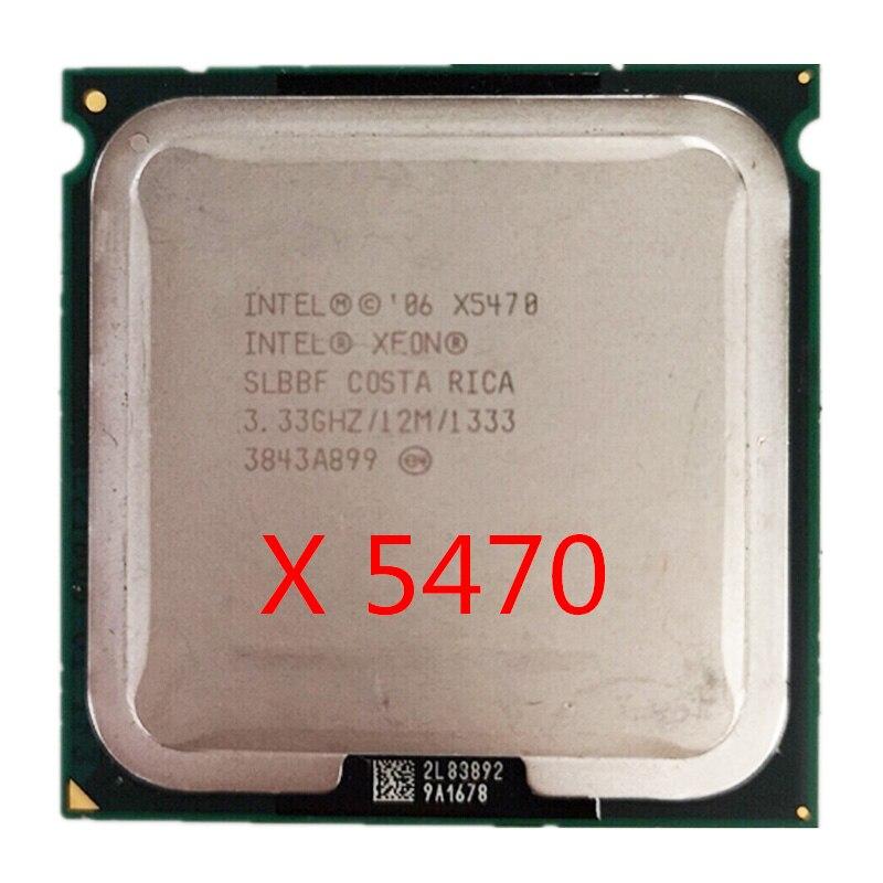 Intel Xeon X5470 CPU Works On LGA 775 Mainboard 3.33GHz 12MB 1333MHz Quad-Core Processor