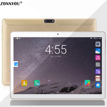 10.1 inch Tablets PC Android 7.0 3G Phone Call Tablet Octa Core 4GB RAM 32GB Dual SIM 5.0MP GPS Bluetooth Wi-Fi Tablet PC
