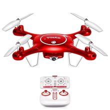 Syma X5UW Wifi FPV 720P HD Camera RC Quadcopter Drone with Flight Plan Route App Control & Altitude Hold Function