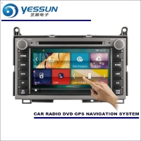 YESSUN For Toyota Venza 2009~2016 Car Radio CD DVD Player Amplifier HD TV Screen GPS Nav Navi Navigation Audio Video System