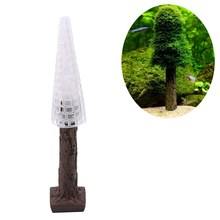Aquarium Tank Landscape Simulation Xmas Moss Christmas Tree Plant Grow Aquarium Decoration Supplies(China)