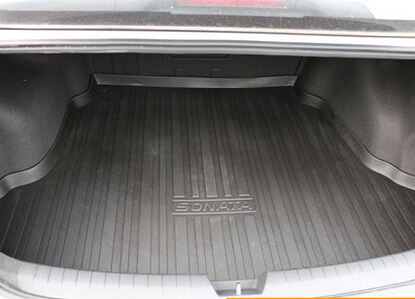 Special Trunk Mats For New Hyundai I45 2016 2017 Easy To Clean Waterproof Boot Carpet Liner Free Shipping In Floor From Automobiles