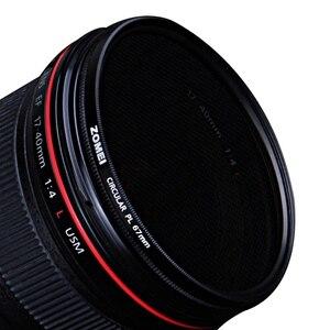 Image 5 - Zomei cplカメラフィルター円偏光cir pl用一眼レフカメラレンズ37/40。5/49/52/55/58/62/67/72/77/82/86ミリメートル