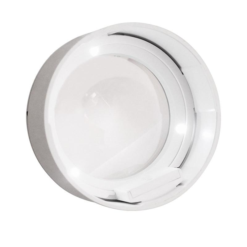 3,5x popierinis padidinamasis stiklas 3 LED apšvietimo spaudos tipo - Matavimo prietaisai - Nuotrauka 3