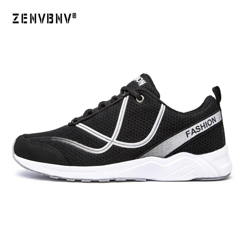 Zenvbnv уличная спортивная обувь Лидер продаж дышащий мужской светло Вес сетки кроссовки для человека спортивный тренер кроссовки 39-46