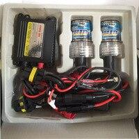 35 Вт DC ксеноновые HID комплект тонкий балластом лампы H1 H3 H7 H8/9/11 9005 9006 все цвета 4300 К 6000 К 8000 К 10000 К 12000 К