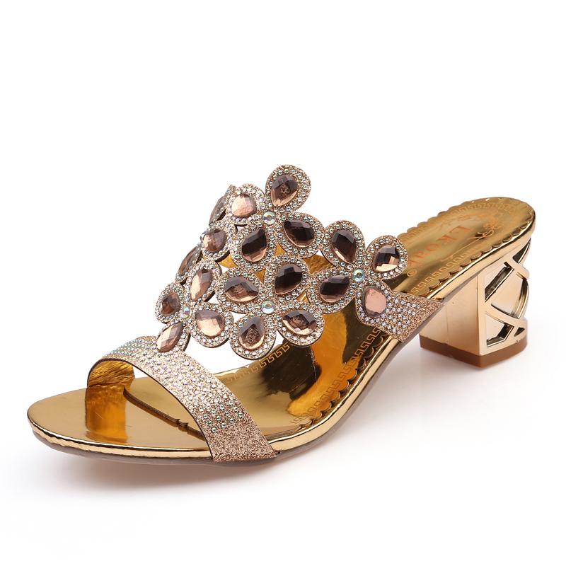 new 2017 fashion women big rhinestone cut outs high heel party sandals - free shipping! New Fashion Women Big Rhinestone Cut Outs High Heel Party Sandals – Free Shipping! HTB1lMaSRVXXXXbdXXXXq6xXFXXX7