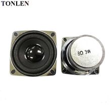 Tonlen 2 Pcs 8 Ohm Speaker Lengkap 2 Inci Diy Portabel Bluetooth Speaker Mini 3W Loudspeaker Bagian Square 50 Mm Stereo Speaker(China)
