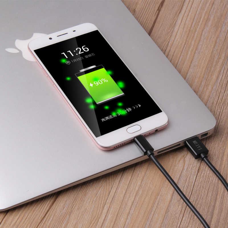 สาย Micro USB 2A Fast Charge USB Data Cable for Samsung Xiaomi แท็บเล็ต Android สายชาร์จ USB Microusb Cable