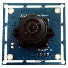 720p HD Wide Angle CMOS OV9712 camera usb2.0 170 degee fisheye security Camera Usb Webcam Camera Module ELP for Robotic Systems