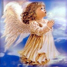DIY Diamond painting cross stitch Painting Crafts Embroidery Decoration Gifts 5D Mosaic little angel