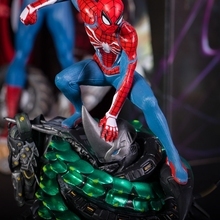 Marvels Spider-Man PS4 Game Spiderman Collectors Edition PVC Figure Collectible Model Toy In Box