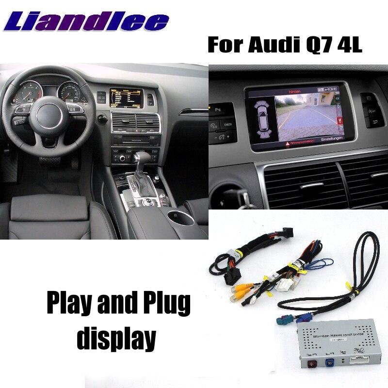 Liandlee Parking Caméra Interface Inverse Caméra de Recul Kits Pour Audi Q7 4L MMI Affichage Mise À Niveau
