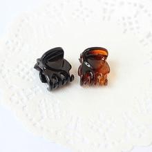 12pcs/Bag Black Hair Clips Clipper Clip Barrettes For Women Ladies Plastic 6 Claws Hairpin Headwear Hair Styling Tools